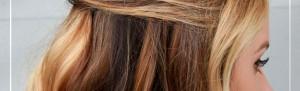 <strong>Peinados para Navidades : semirecogido con volumen</strong>