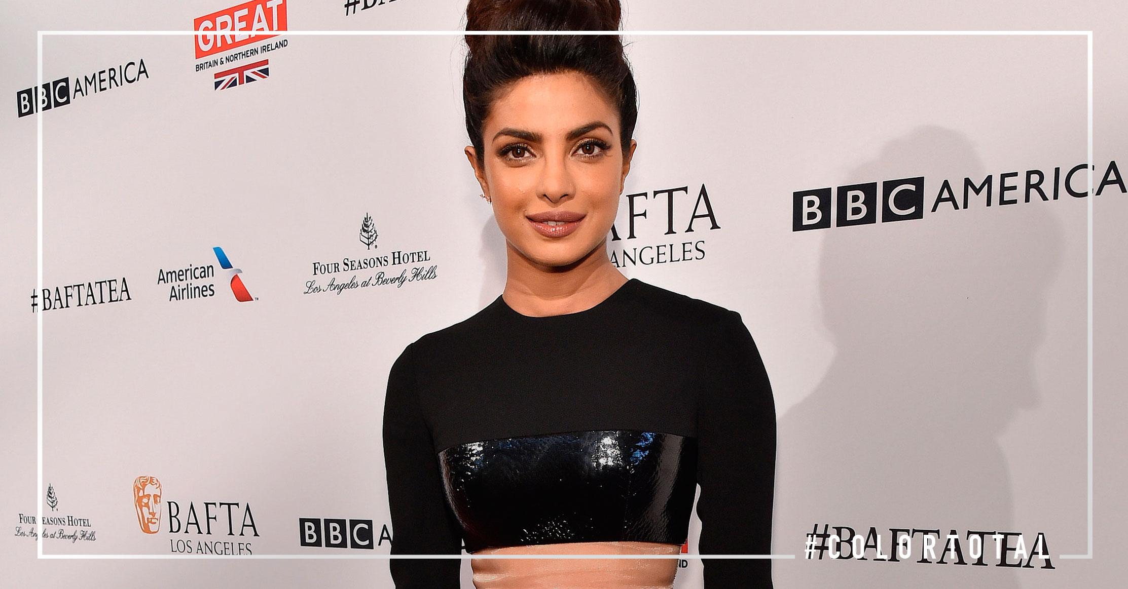 La estrella que cada vez brilla más : Priyanka Chopra peinado lazo