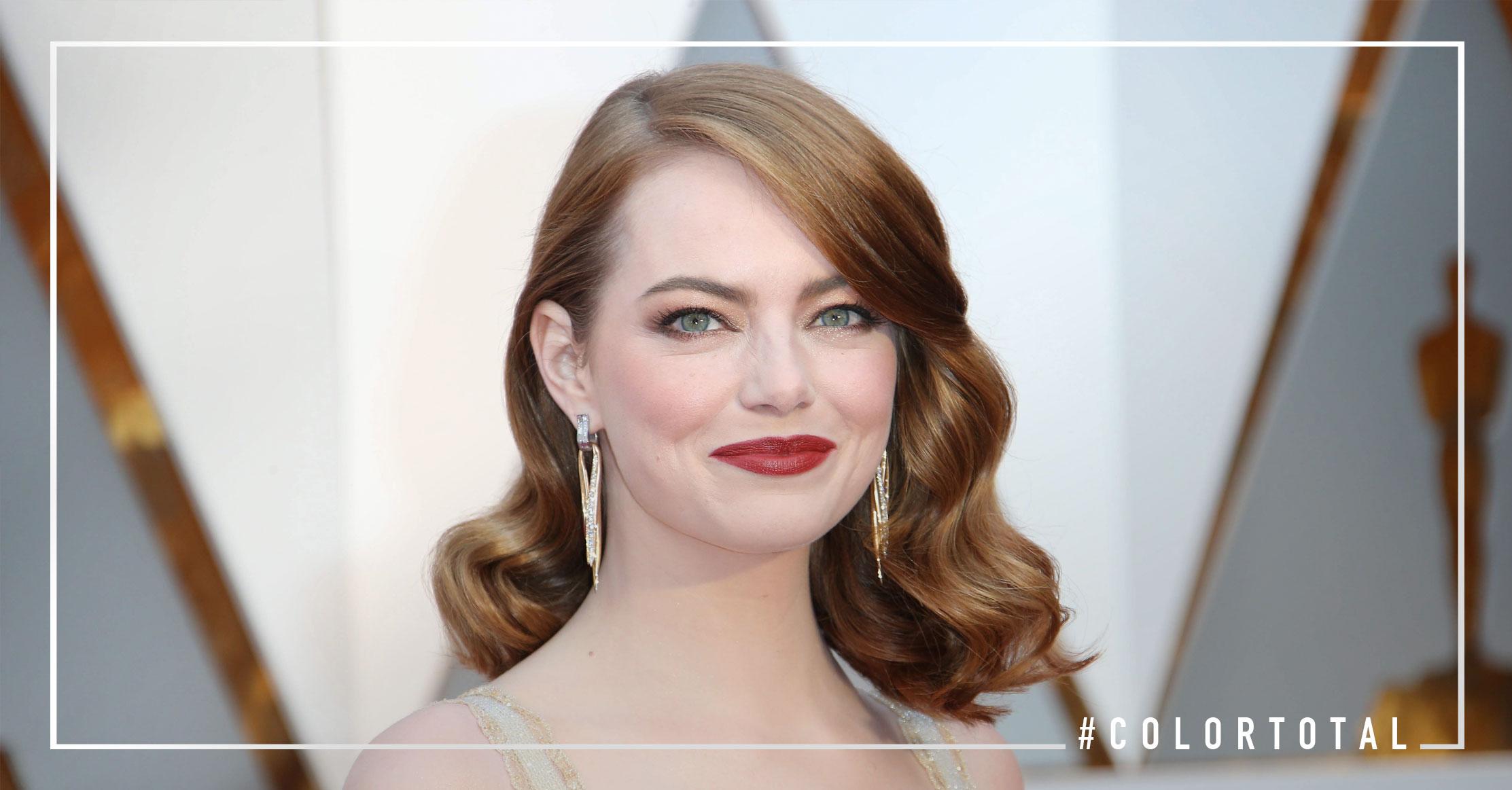 Emma Stone - Los mejores peinados de los Oscars