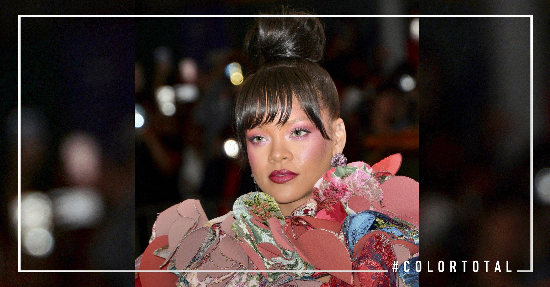 Los mejores peinados Gala MET 2017 Rihanna