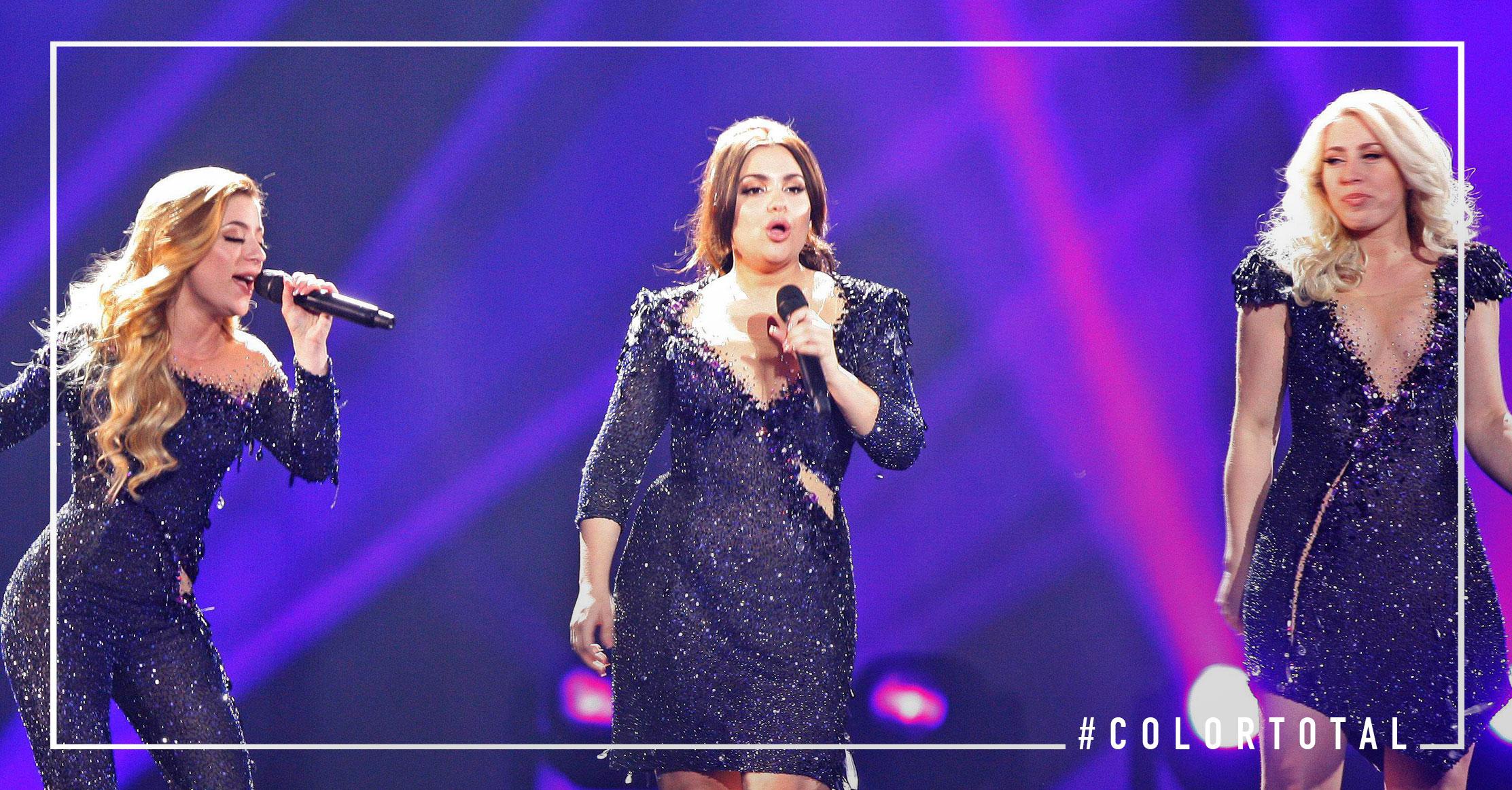 Los looks más elegantes Dinamarca Eurovisión 2017