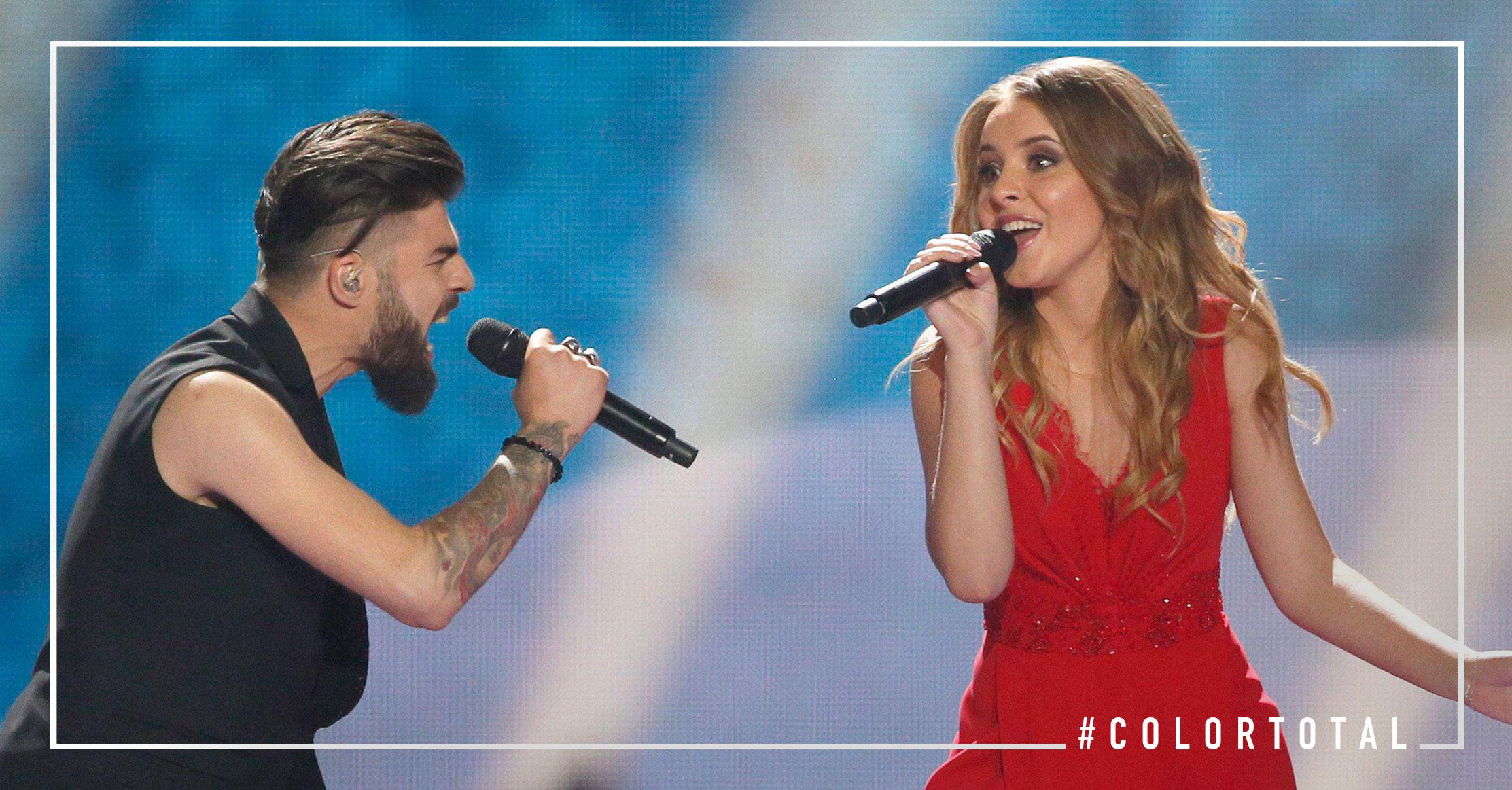 Los looks más elegantes Rumania Eurovisión 2017
